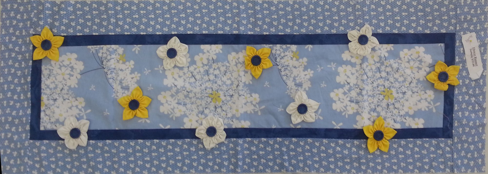 Flower Runner Sample (16 x 48)