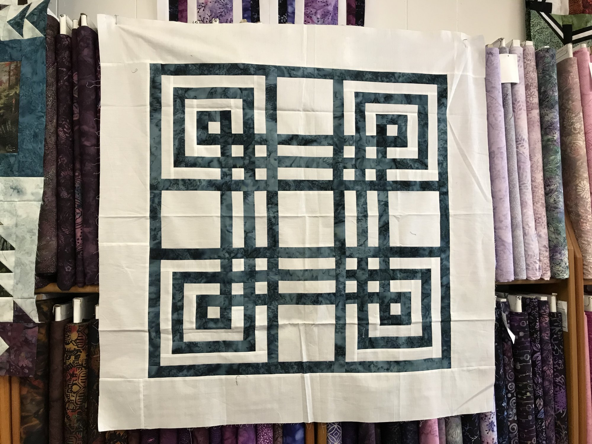 Carpenter's Square Sample 35 x 35