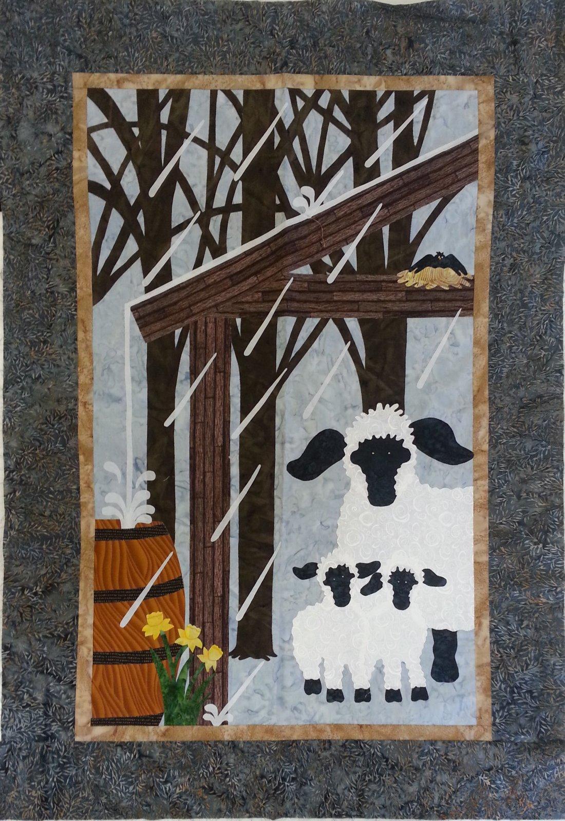 Little Woolies Sample  - 28 x 39