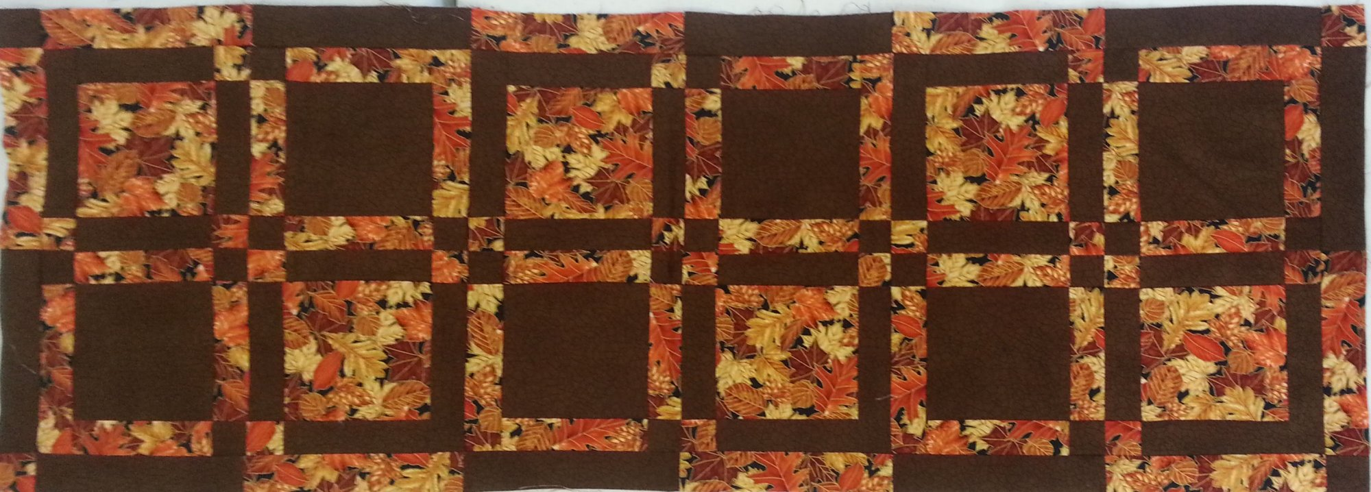 On the Eights Runner Sample  - 16 x 40