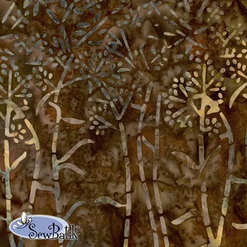 Duram Dreams brown bark batik