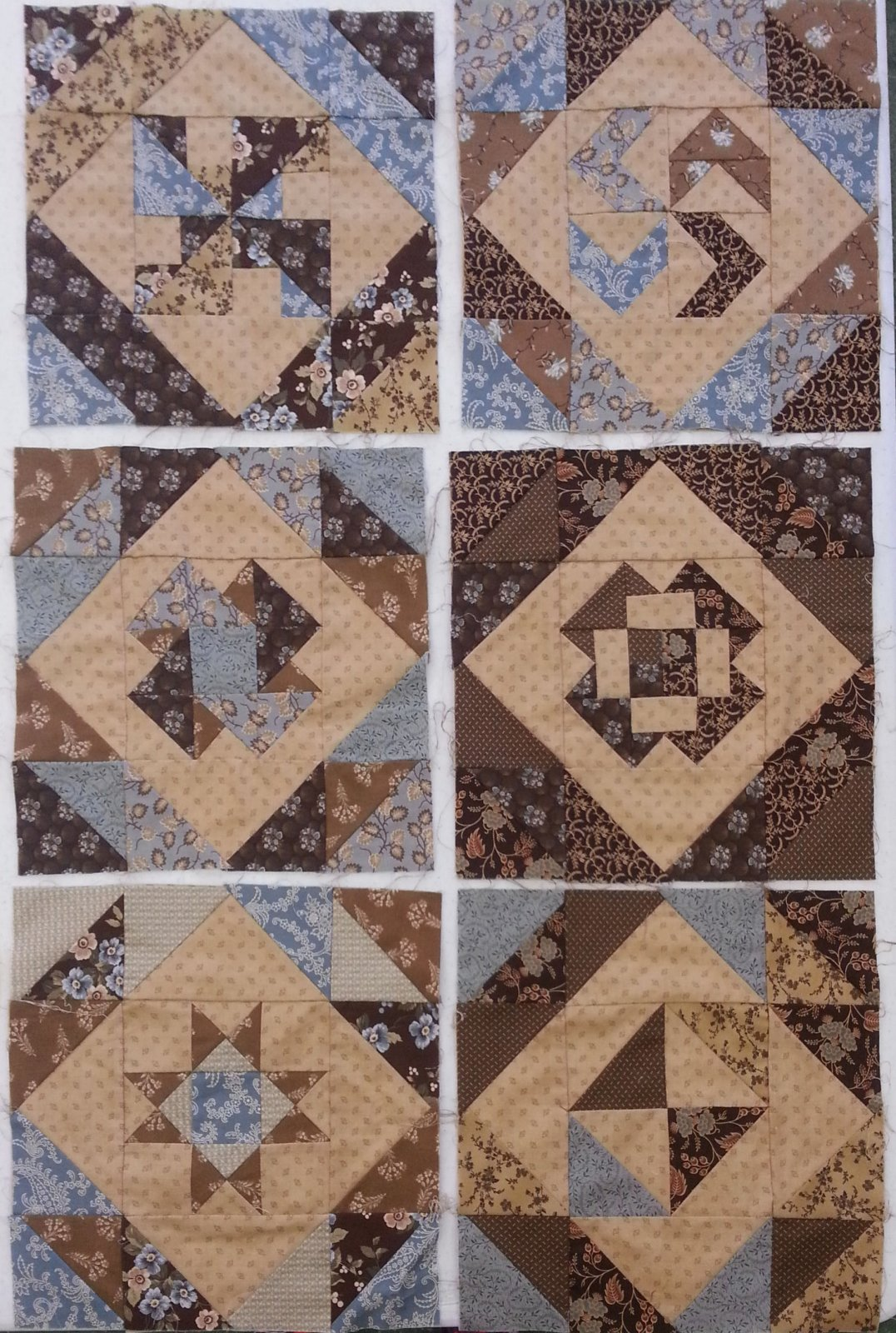 Set of Six Blocks Samples