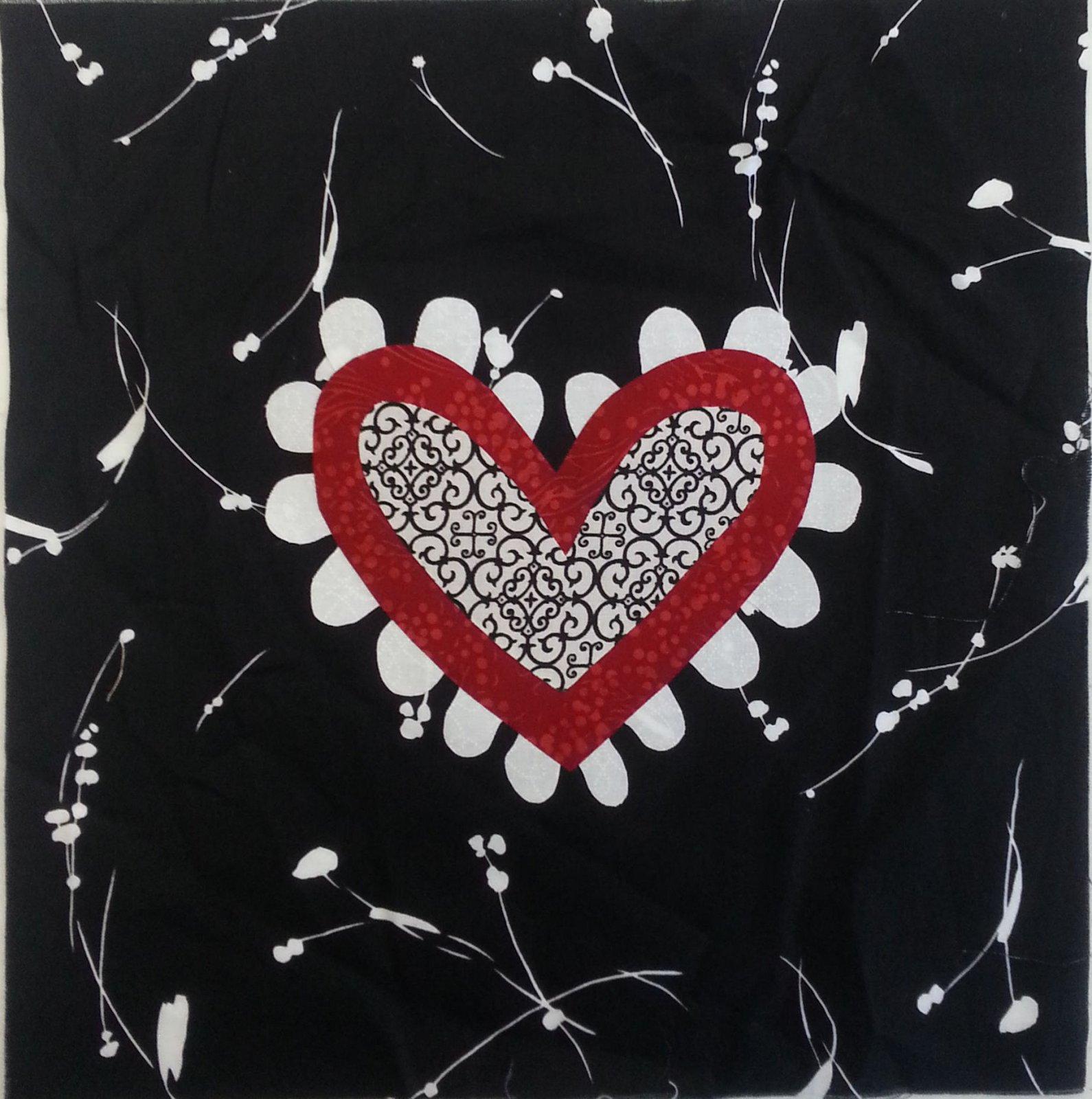 The Heart  Sample - 11x11