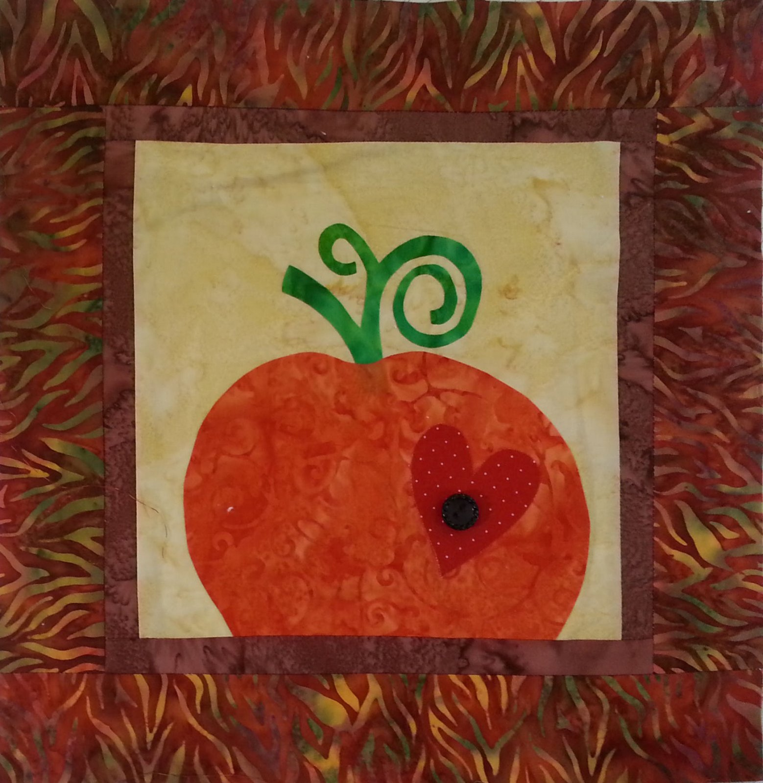 The Pumpkin Sample - 12 x 12