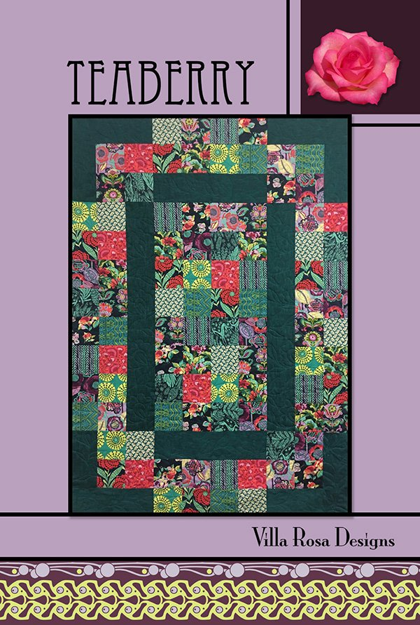 Teaberry pattern 45 x 63