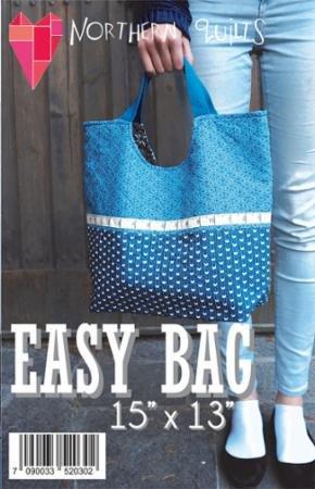 Easy Bag pattern 15 x 13