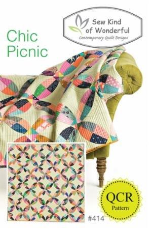 Chic Picnic pattern 75 x 75