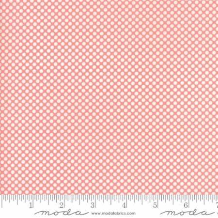108 Vintage Holiday Christmas Dot Pink