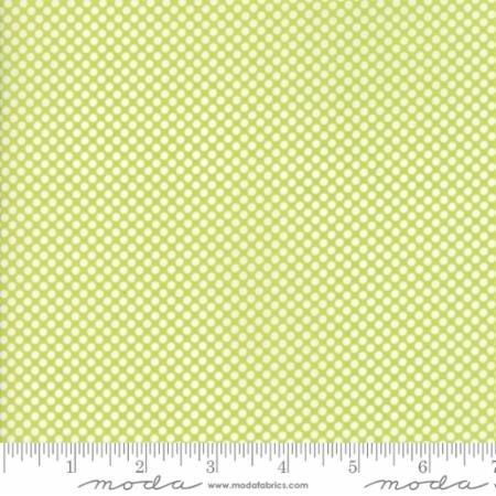 108 Vintage Holiday Christmas Dot Green