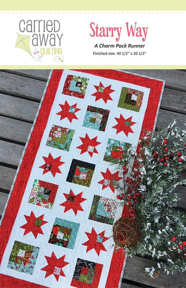 Starry Way table runner