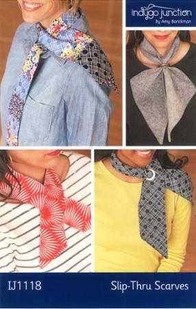 Slip Thru Scarves pattern