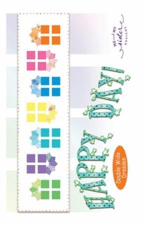Happy Day pattern 19.5 x 76