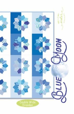 Blue Moon pattern 64.5 x 64.5