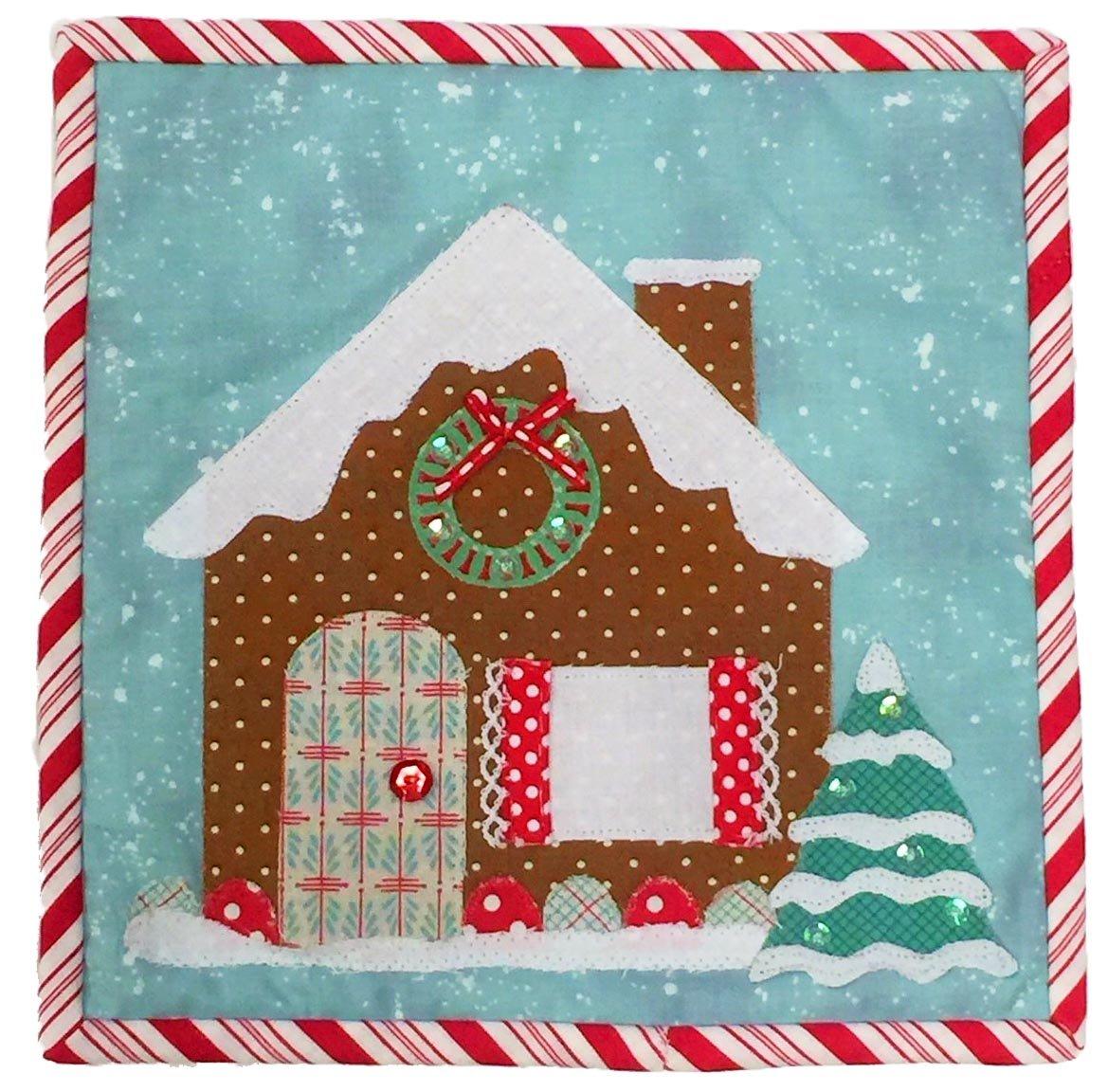 Mug Rug Kit Gingerbread House