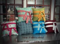 Sew Fabricated Pillow Talk