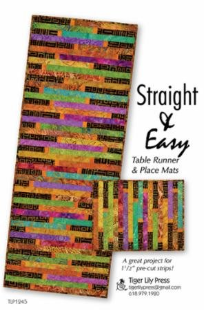 Straight & Easy Table Runner Mats