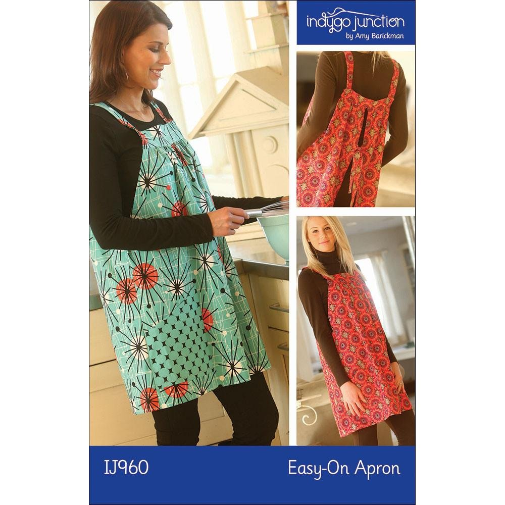 Vintage Holiday/Easy On Apron Kit one size