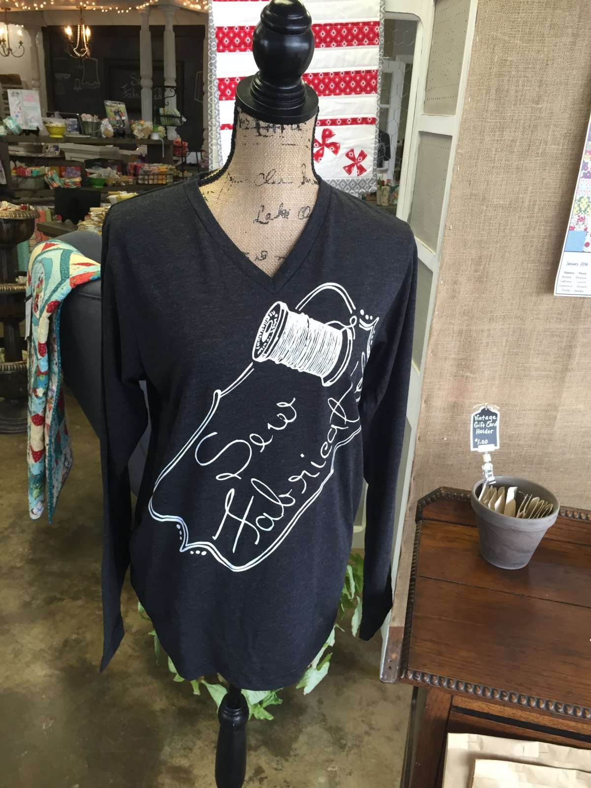 Sew Fab Long Sleeve T-Shirt Original