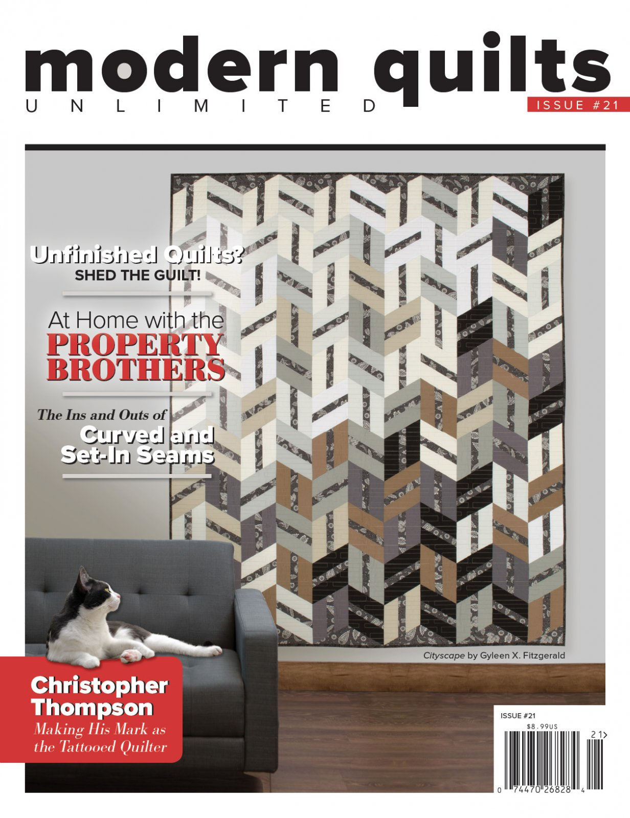 Modern Quilts Unlimited Issue #22