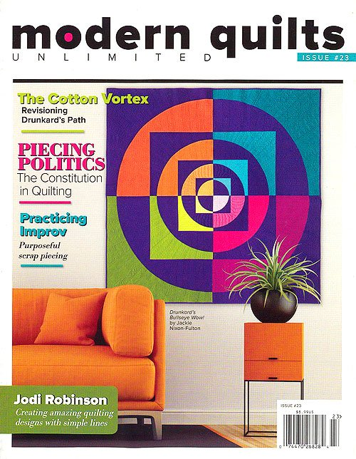 Modern Quilts Unlimited Issue #23