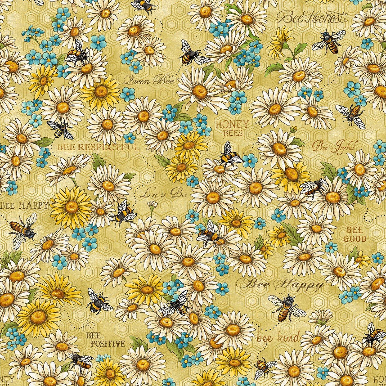 Bee Kind - Flowers & Works (Paintbrush)