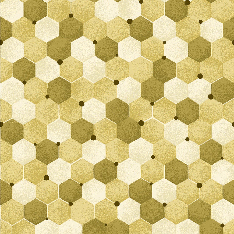 Bee Kind - Tonal Honeycomb (Paintbrush)