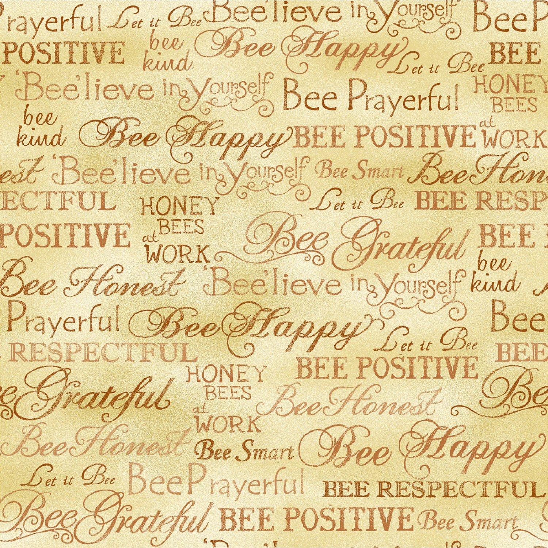 Bee Kind - Words (Paintbrush)