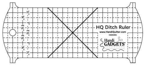 HQ Ditch Ruler - by Handi Quilter -