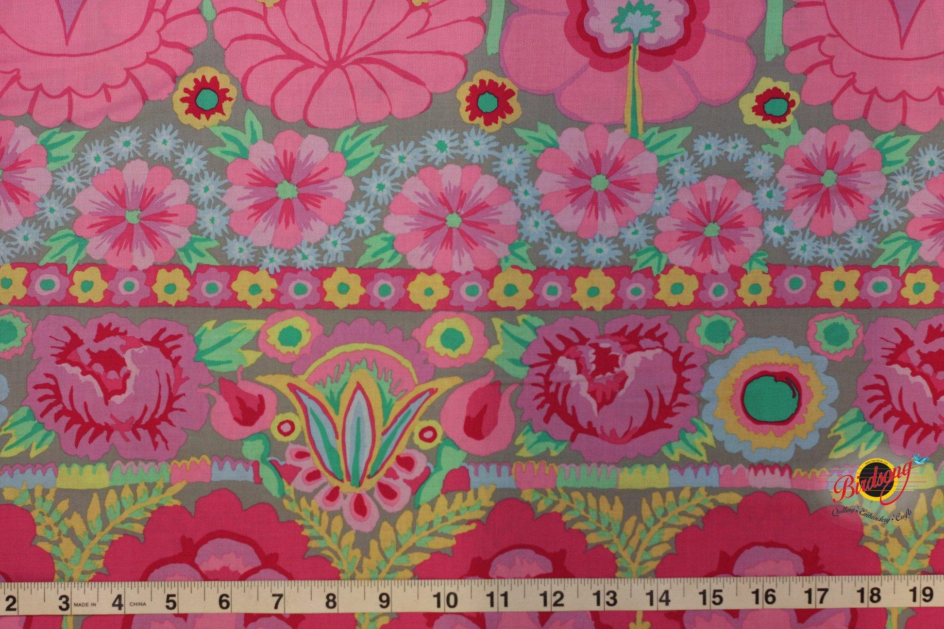 Kaffe Fassett - Artisan - Embroidered Flower Border