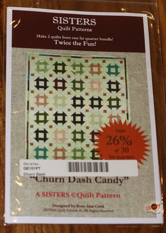Sisters Quilt Patterns - Churn Dash Candy