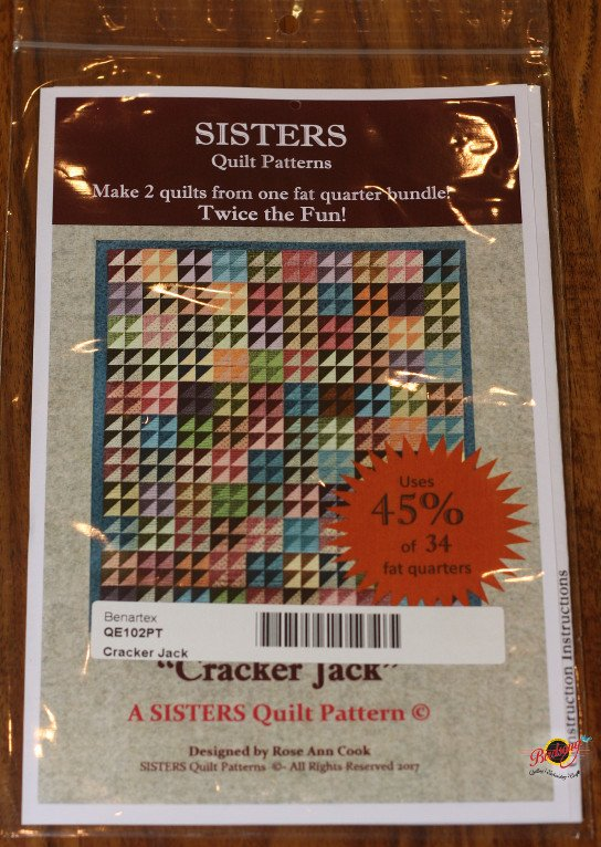 Cracker Jack by Rose Ann Cook for Sisters Quilt Patterns