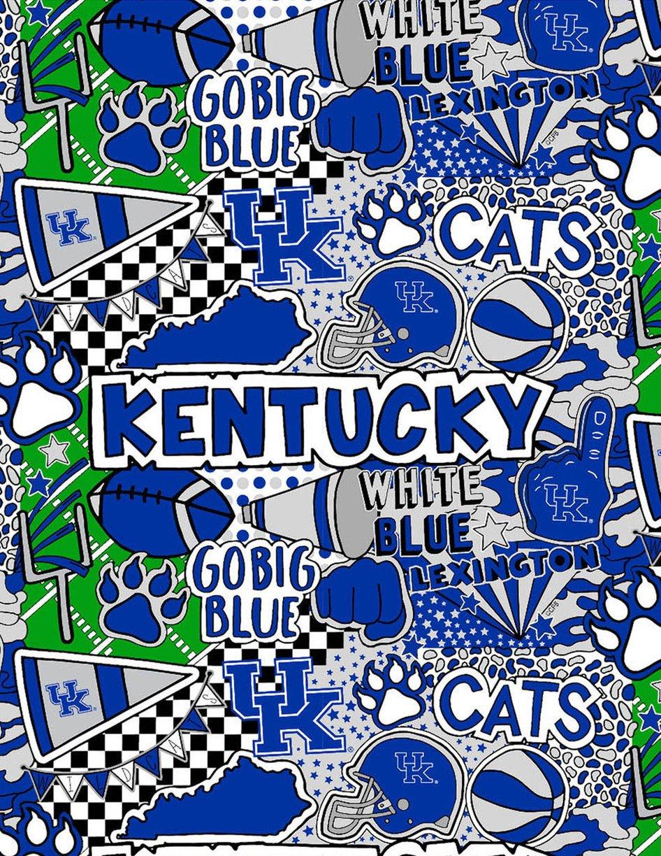 Kentucky Wildcats Pop Art - KY-1165 (Digitally Printed)