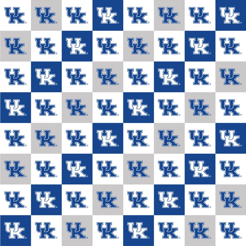 Kentucky Wildcats Squares  - KY-1158 (Digitally Printed)