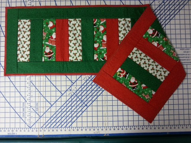 Reversible Quilt As You Go Table Runner 2 Class Session