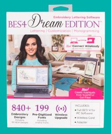 SABESLET4 - BES4 Dream Edition Embroidery Lettering Software