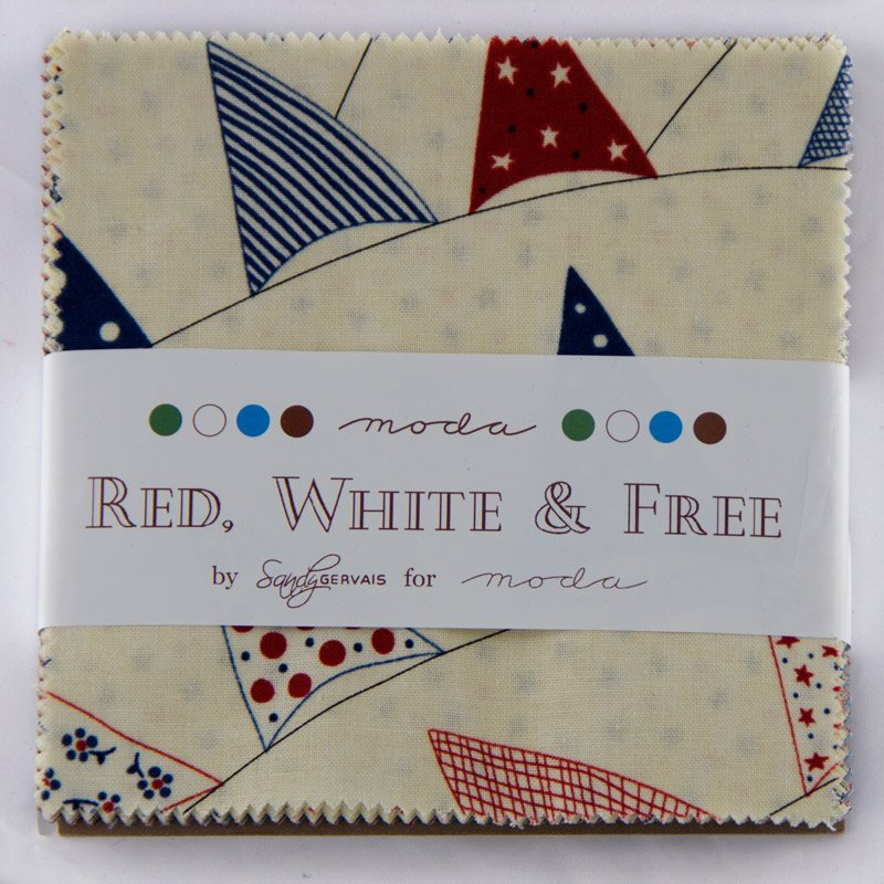 Red White & Free Charm Pack 17800PP