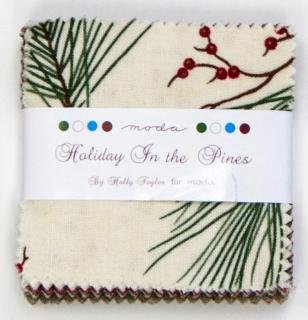 Holiday In the Pines Mini Charm Pack
