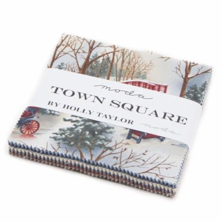 Town Square Charm Pack #6630PP Holly Taylor