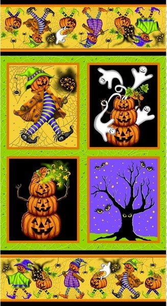 Pumpkin Parade (Panel) E60-1293-MULTI