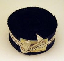 Bella Solid Black Jelly Roll