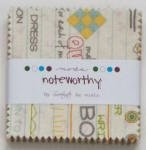 Noteworthy Mini Charm Pack