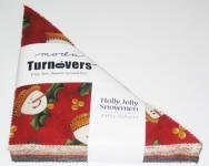 Holly Jolly Snowmen Turnover
