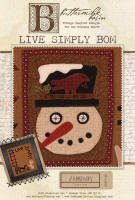 BMB1135 - Live Simply - January - Butter Milk Basin