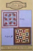 August Table Topper - Cotton Way