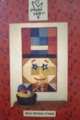 332 Seeing Stars Tablemat/Wall Quilt by Pieces From My Heart