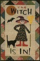 The Witch Is In! By Jan Patek Quilts