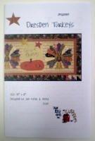 Dresden Turkeys by Jan Patek Quilts