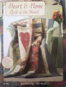 Heart & Home Quilt of the Month by Suzanne McNeil