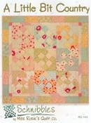 RQC402 A Little Bit Country Schnibbles by Miss Rosies Quilt Co