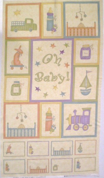 Oh Baby! Flannel (Panel) 17140-11B